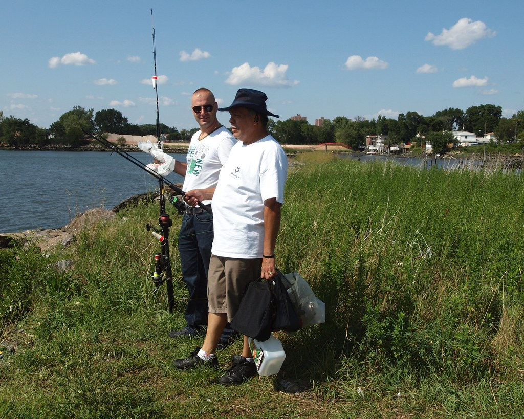 Fishing on the bronx river harding park clason point br for Indian river inlet fishing tips