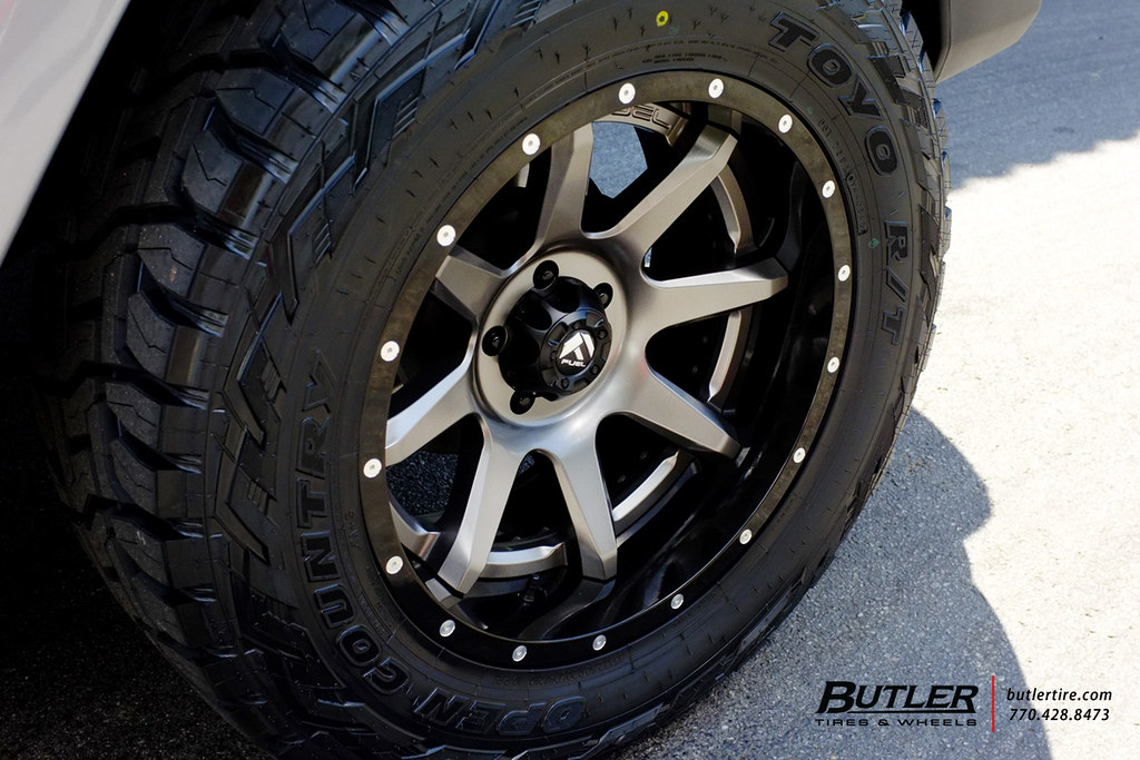 2016 Ram 1500 >> Jeep Wrangler with 20in Fuel Rampage Wheels and Toyo RT Ti ...