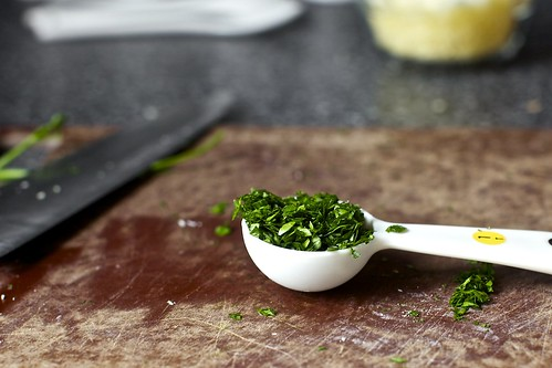 minced parsley | by smitten kitchen