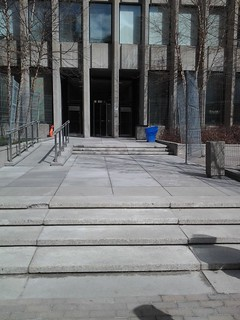Is the temporary fence at University Ave. courthouse legal? | by OpenFile.ca