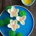 Monet's Water Lilies Cupcakes
