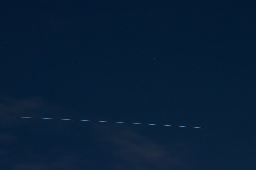 International Space Station | So the pic isn't much, that ...