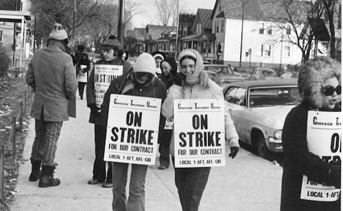 Image result for image of a picket line