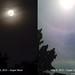 Super Moon vs Super Sun Halo