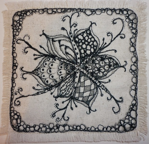 Quilted zentangle here s the second in my free