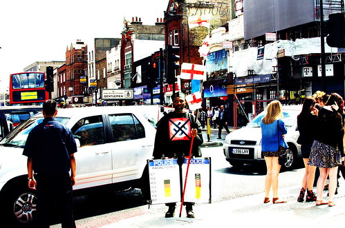 No Svastika Anti Racist in Camden Town | by eddyinblu