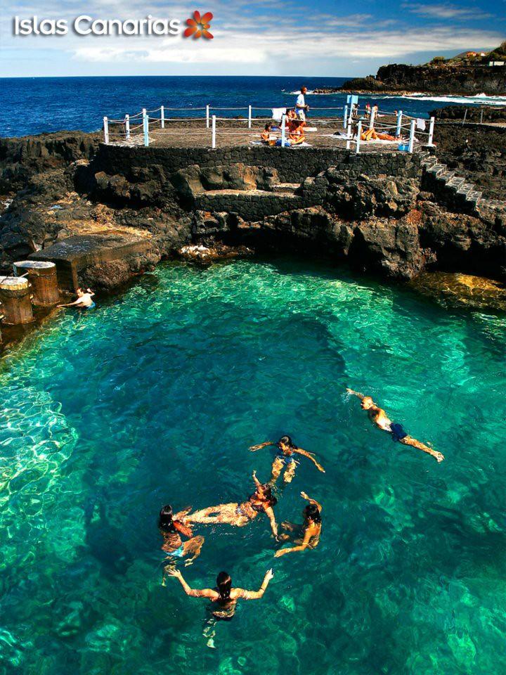 Charco azul en la palma islas canarias the canary for Charcos naturales en tenerife