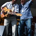 Oscar Lopez and Sidi Toure @ Gallagher Park. 2012 Edmonton Folk Music Festival.