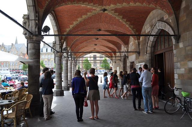 Ieper grote markt nieuwerck flickr for Piscine ypres photo