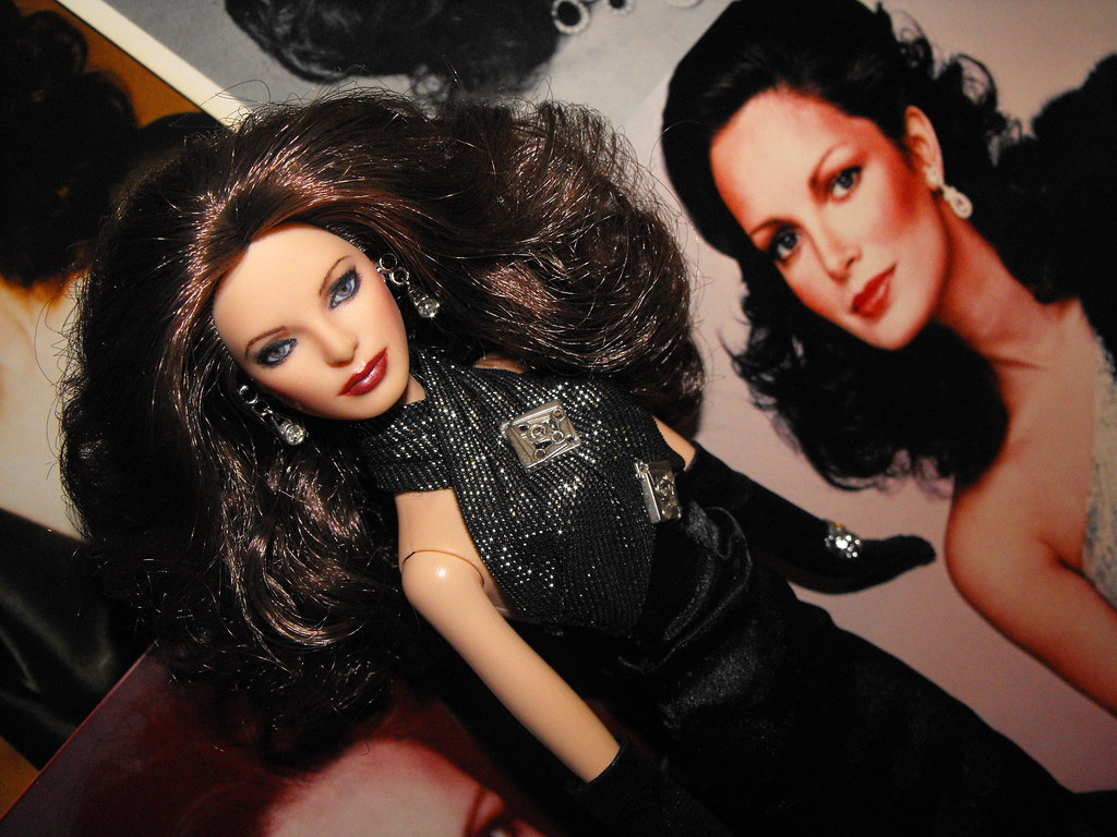 Classic Beauty Queen Jaclyn Smith As A Barbie Fashion Doll