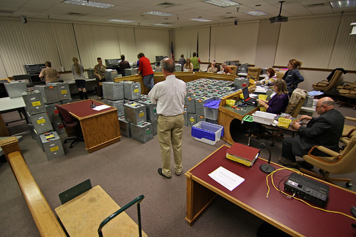 Ballot counting | by fayettevilleflyer
