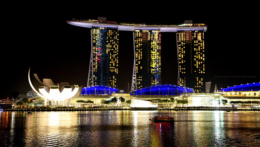 3d Exhibition Designer Jobs In Singapore : Marina bay sands from singapore merlion