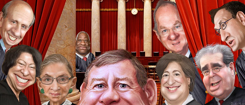 The United States Supreme Court 2012 | by DonkeyHotey