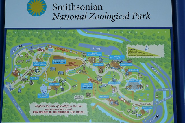 National Zoo Map Flickr Photo Sharing