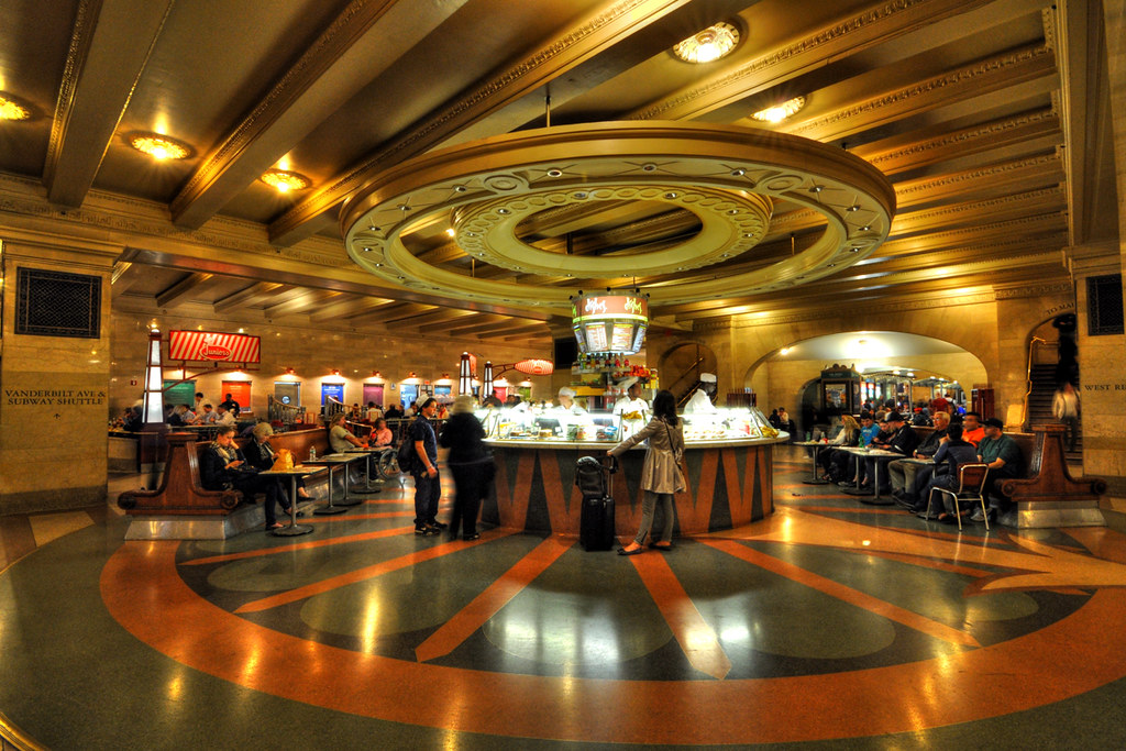 Grand Central Terminal Free Food