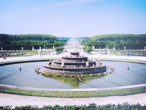 first memories from europa, versailles | by hallovalerie