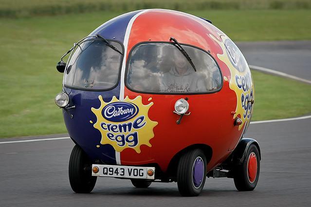 Crash Egg Car