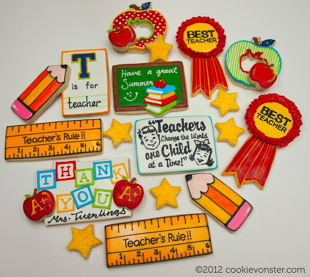 Back To School Cookie Cake Ideas