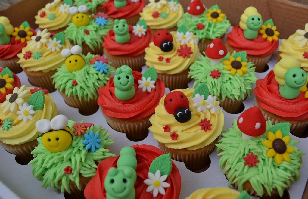 Bug Free Cake Decorating Ideas
