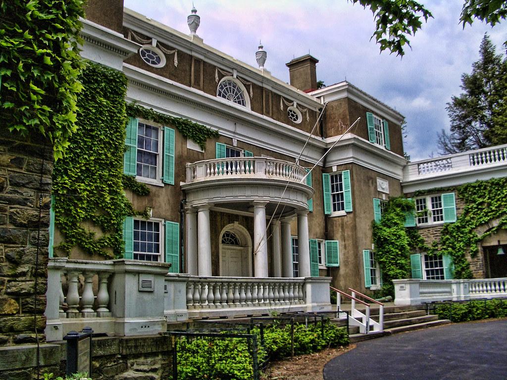 Franklin Roosevelt Home In Hyde Park Ny