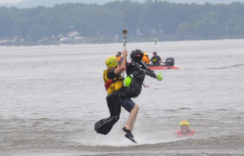 Maryland Helicopter Aquatic Rescue Team More Than 50