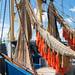 Nets on board of a fishing vessel - Netten van een viskotter