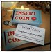 Insert Coin business cards