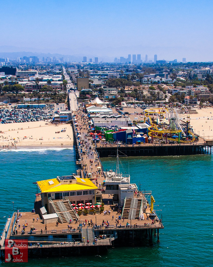 The Peir: An End On View Of The Santa Monica
