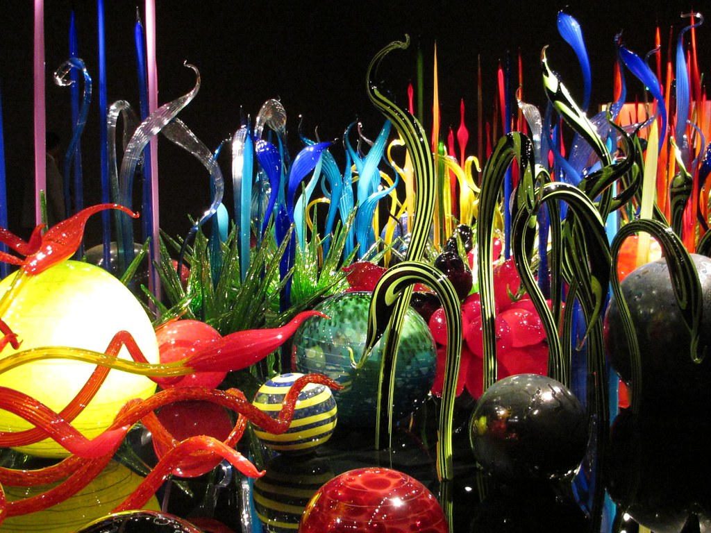 Chihuly Glass Garden Cafe