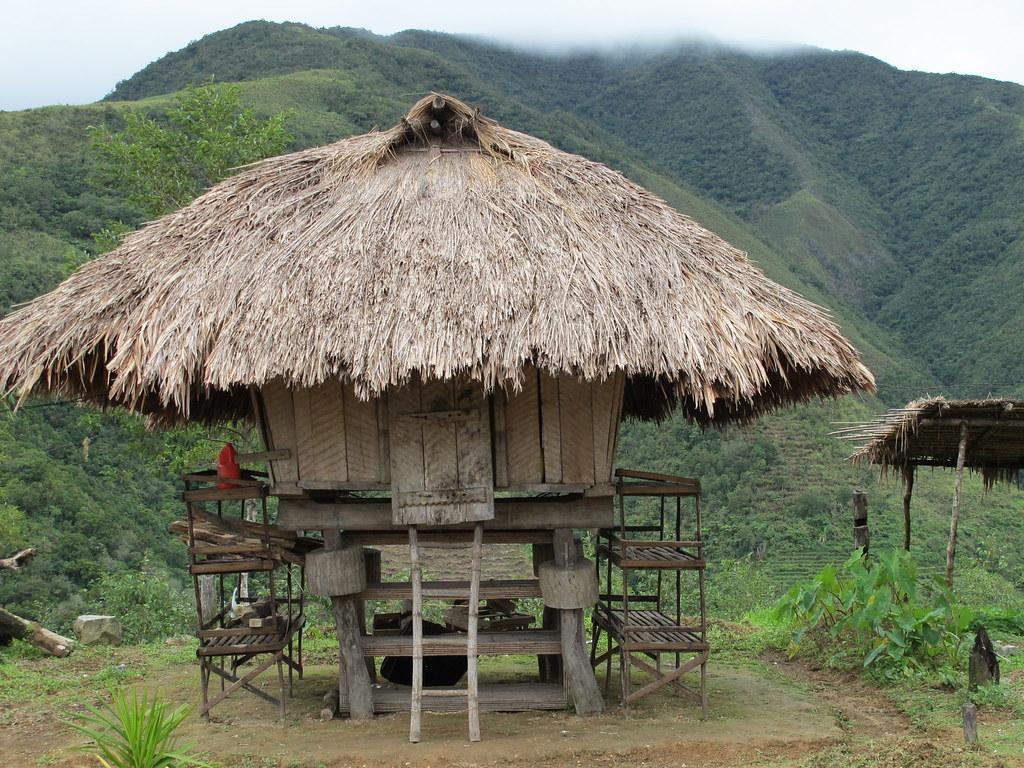 Bahay Kubo Design Ifugao Terraces Philippines Typically The Ifugao House
