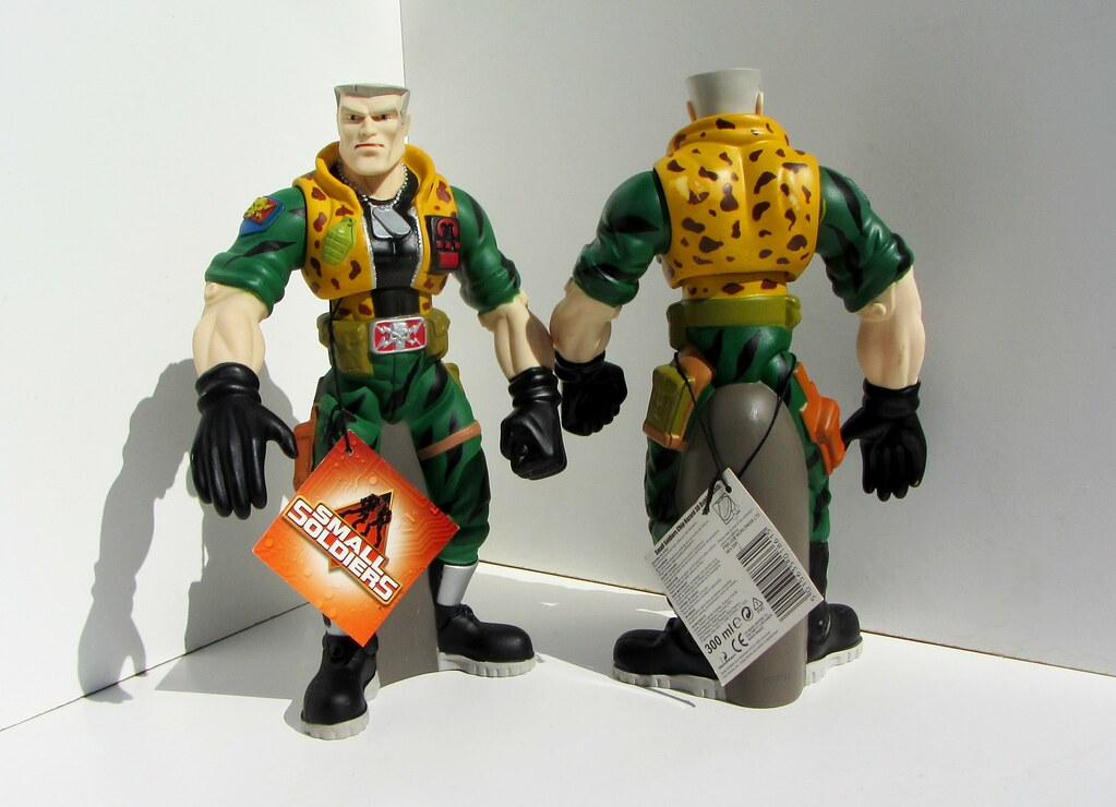 Small Soldiers Chip Hazard 3d Bubble Bath Soaky And Show