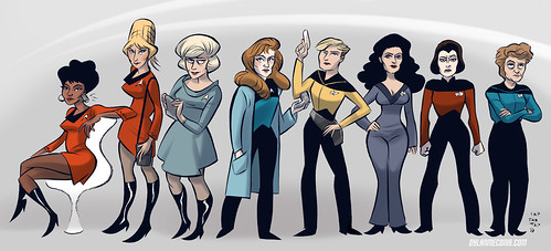 Trek Ladies | by quirkybird