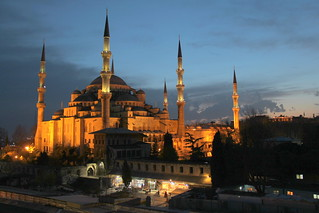 Blue Skies over the Blue Mosque | by Stephen Lioy