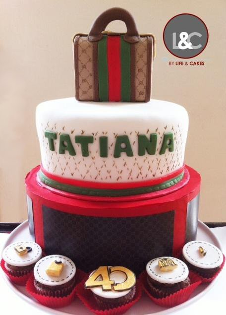 Gucci Bag Cake For Fashion Addicted A Two Tier Cake