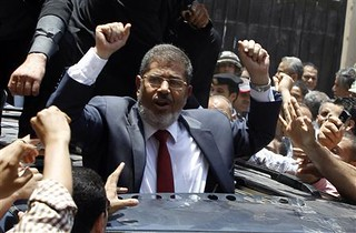 Mohamed Morsi, candidate for the Freedom and Justice Party (FJP), has been declared the winner of the national run-off presidential elections in the North African state of Egypt. Morsi is a U.S.-educated engineer. | by Pan-African News Wire File Photos
