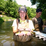 Girl with Trout