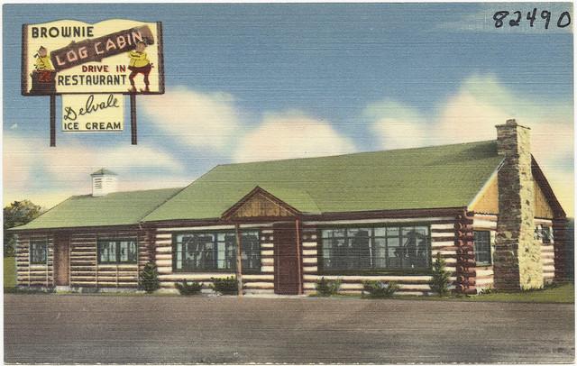Log Cabin Restaurant Mcgaheysville Va