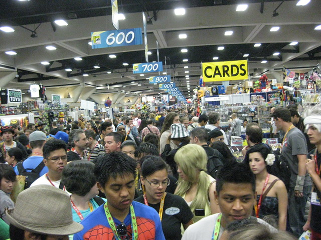 Expo Hall Crowd
