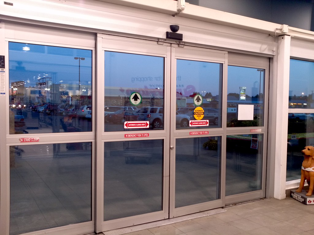 Automatic door missing decal this set of