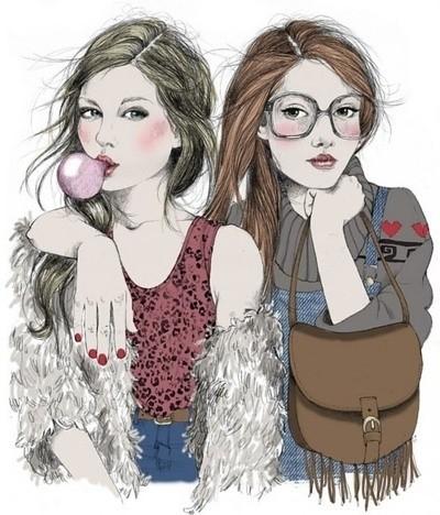 Girl Drawings Drawing-drawings-girls-girly