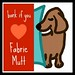 Fabric Mutt Button Small