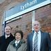 Len, Brenda & Tim at Lytham Train Station