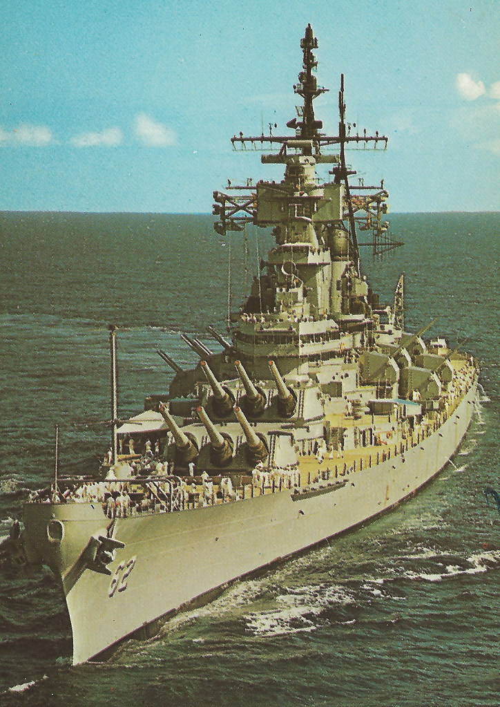 Uss New Jersey Us Navy Iowa Class Battleship Bb 62 Iowa Cl