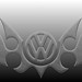 VW Logo StoneDeSign Tribal - © by H2O74