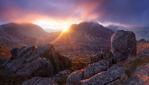 Glyder Fach and Tryfan | by @alexnail