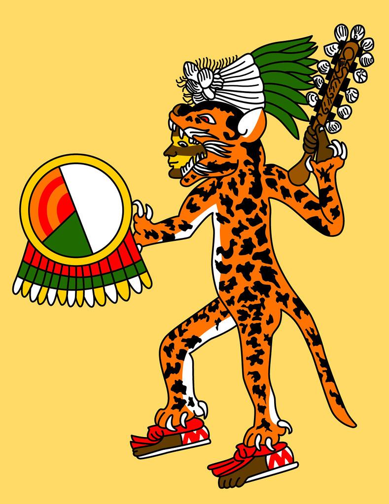 Aztec Jaguar Warrior Codex Magliabechiano Gwendal
