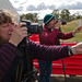Photographing ABC Open Now and Then images at Mount Panorama, Bathurst, NSW