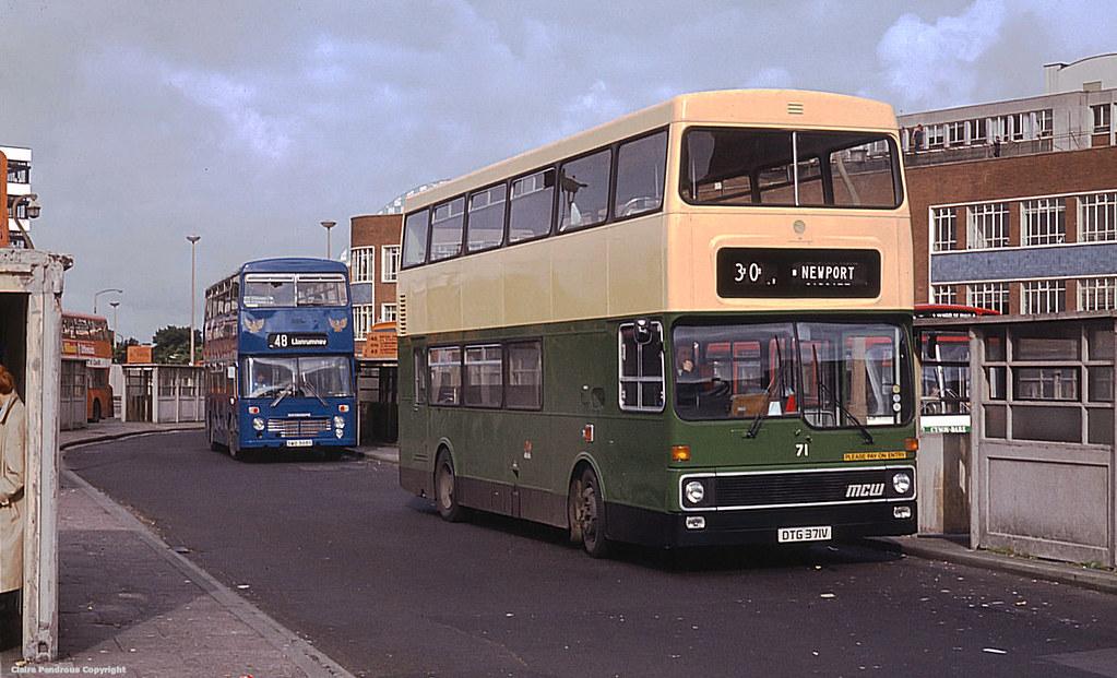 newport transport 71  cardiff bus station