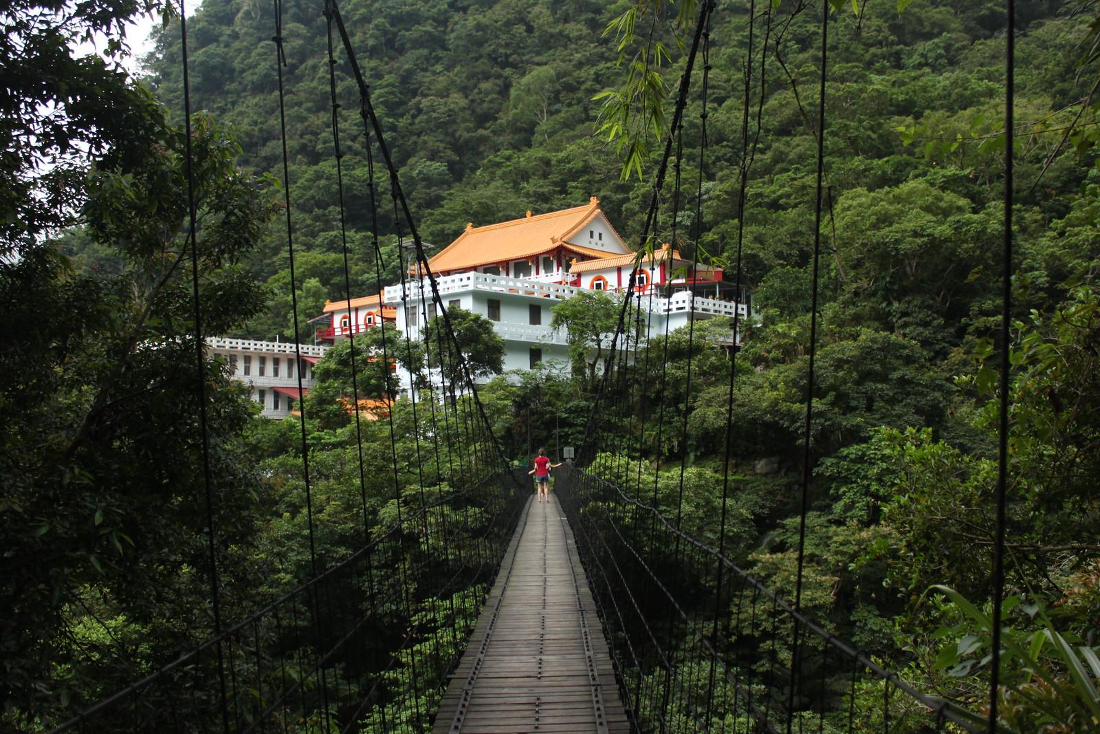 Un templo al final de un hike