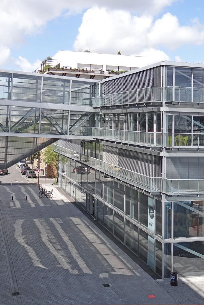 L 39 cole d 39 architecture nantes le b timent de l 39 cole d for Ecole d architecture